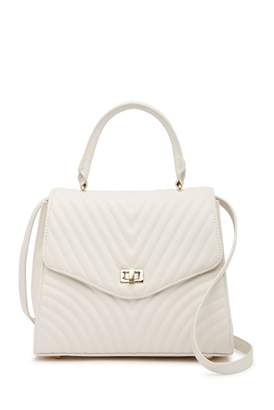 Steve Madden Chevron Quilted Satchel Bag