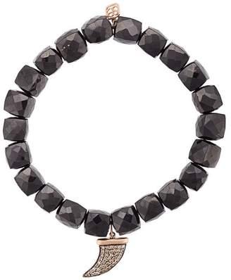 Sydney Evan Horn charm beaded bracelet
