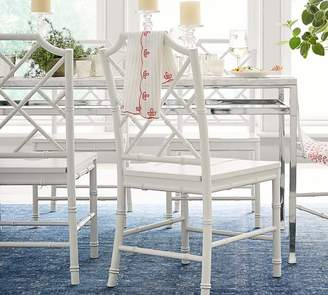 Pottery Barn Tanner Marble Dining Table