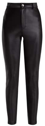 Sonia Rykiel Scuba Leggings - Womens - Black