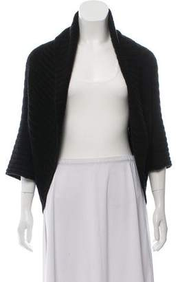 Autumn Cashmere Knitted Cashmere-Wool Blend Cardigan