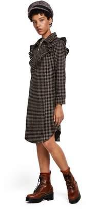 Scotch & Soda Checked Ruffle Dress