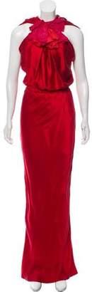 Lanvin Silk Maxi Dress