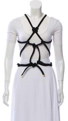 Tom Ford Knotted Harness Belt w/ Tags