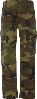 RE/DONE Camo Skinny Cargo Pants