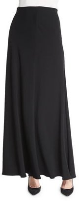 THE ROW Frol A-Line Maxi Skirt, Black $1,350 thestylecure.com