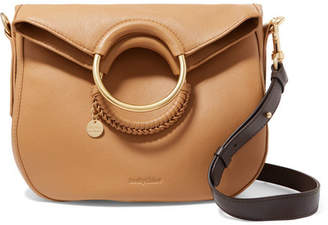 See by Chloe Monroe Textured-leather Tote - Sand