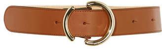 Karen Millen Abstract Buckle Belt