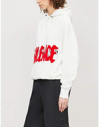 Izzue Silence cotton-blend hoody