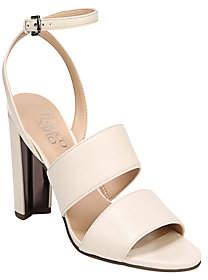 Franco Sarto Suede Double Strap Sandals - Haneli