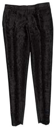 Saint Laurent Mid-Rise Skinny Pants Black Mid-Rise Skinny Pants