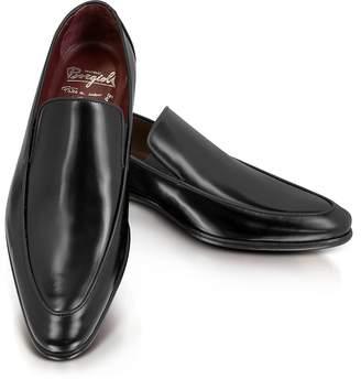 Fratelli Borgioli Cricket Black Leather Loafer
