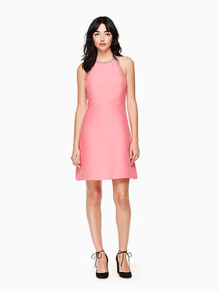Kate Spade Embellished a-line dress
