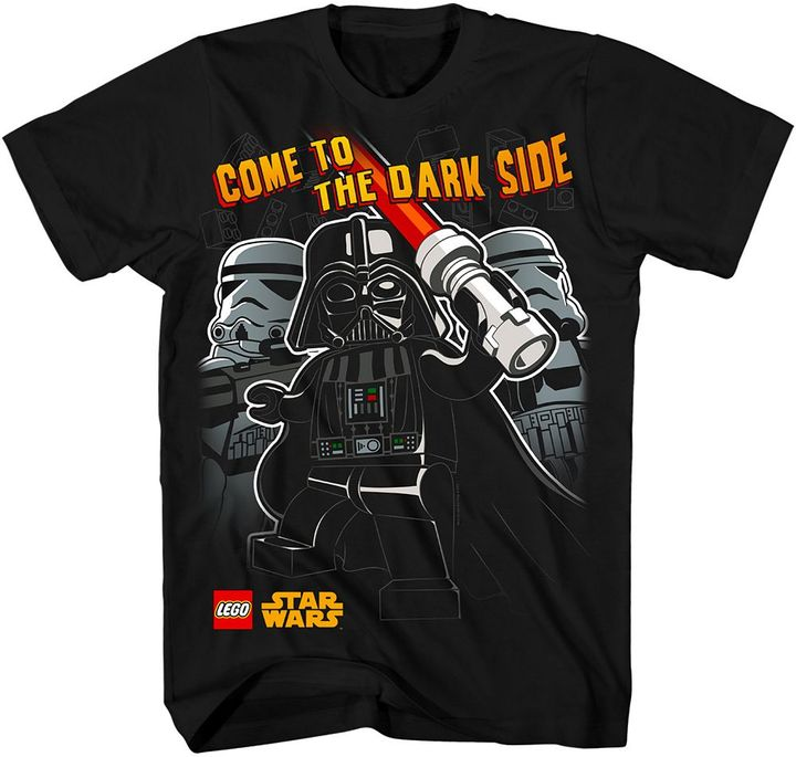 """Star Wars Lego come to the dark side"""" tee - boys 4-7"""