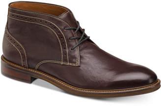 Johnston & Murphy Men's Warner Leather Chukka Boots Men's Shoes