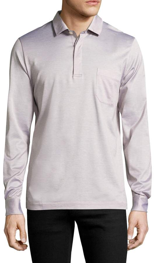 La Perla Men's Long Sleeve Cotton Shirt