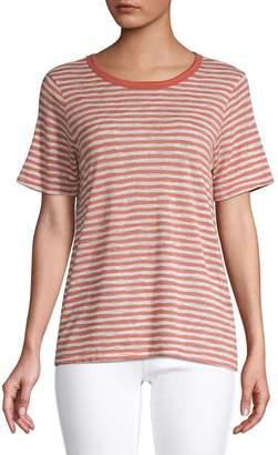 Design Lab Striped Short Sleeve T-Shirt
