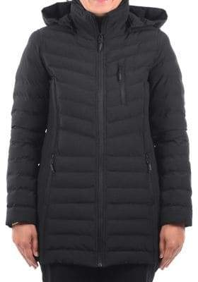 London Fog Quilted Stretch Jacket
