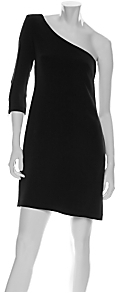 Jay Godfrey Samantha One Shoulder Zipper Dress