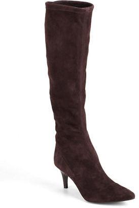 Delman Lilia Tall Suede Boots $598 thestylecure.com