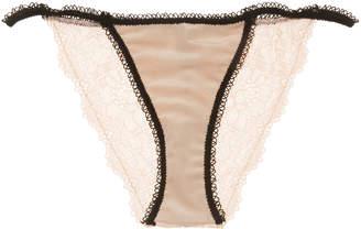 For Love & Lemons Women's Yvette Lace Panty