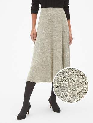 Gap Softspun Metallic Midi Circle Skirt