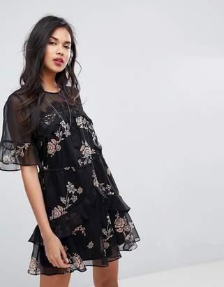 Stevie May Wild Flower Printed Mini Dress