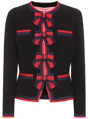 Gucci Wool jacket with Web trim