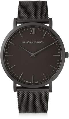 Larsson & Jennings Lugano 40mm Black & Black Watch