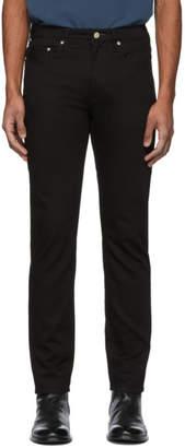 Paul Smith Black Stretch Slim-Fit Jeans