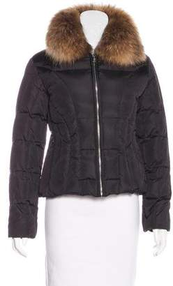 Andrew Marc Fur Puffer Coat