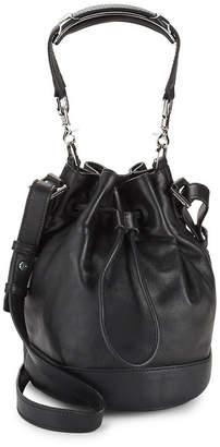 Mackage Mini Leather Bucket Bag