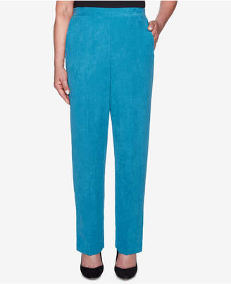 Alfred Dunner Petite Faux-Suede Pull-On Pants