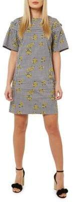 Dorothy Perkins Printed Cotton Shift Dress