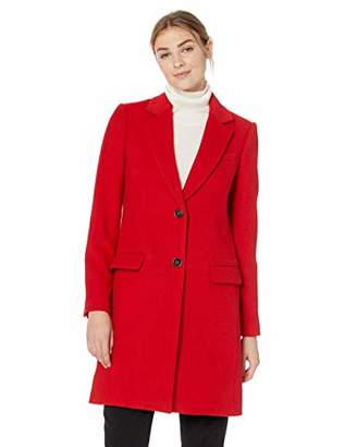 Lark & Ro Women's Single Breasted Walker Coat
