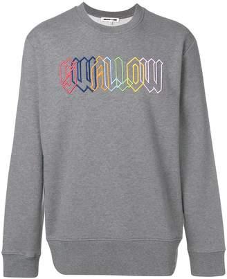 McQ Swallow embroidered sweatshirt