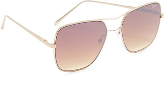 Quay Stop And Stare Sunglasses $60 thestylecure.com