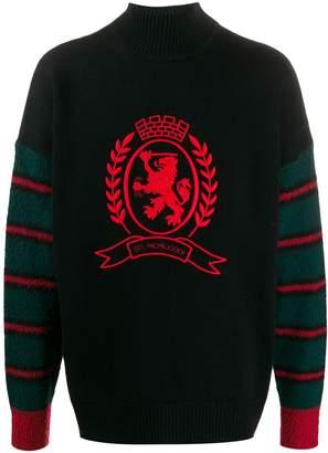 Tommy Hilfiger crest embroidery jumper