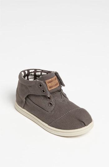 Toms 'Botas - Tiny' Canvas Boot (Baby, Walker & Toddler)