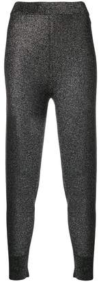 Alexander Wang stretch ribbed cuff leggings