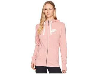 Nike Gym Vintage Full Zip Hoodie Women's Sweatshirt