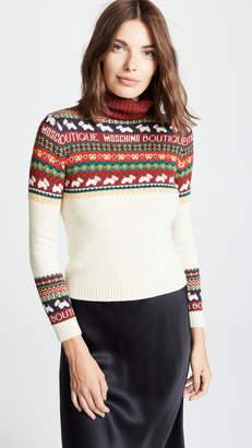Moschino Dog Fair Isle Sweater
