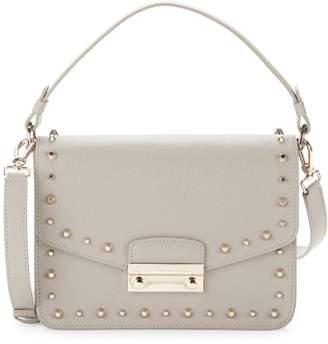 Furla Julia Studded Leather Crossbody Bag