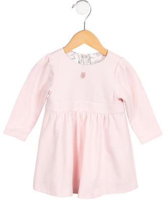 Christian Dior Girls' Long Sleeve Dress $110 thestylecure.com