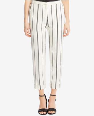 Karen Kane Striped Cuffed-Hem Pants