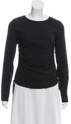 Theory Ruched Silk Top w/ Tags