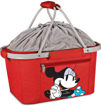 Picnic Time Minnie Mouse Metro Basket Collapsible Cooler Tote