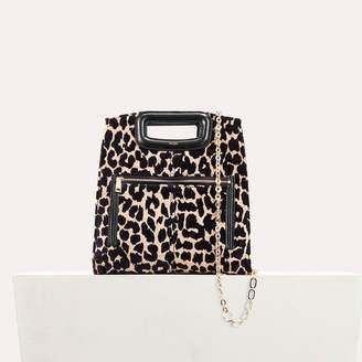 Maje Leopard print bag