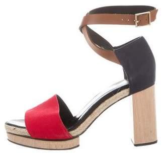 Pierre Hardy Ankle-Strap Platform Sandals