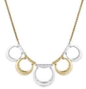 Lucky Brand Nouveau Americana Crystal Statement Necklace